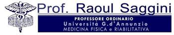 Prof. Raoul Saggini – Ordinario in Medicina Fisica e Riabilitazione – Ortopedico Fisiatra Roma Firenze Napoli
